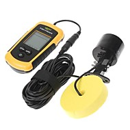 100m Portátil Sonar Sensor Fish Finder Fishfinder Alarm feixe do transdutor
