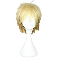 Harajuku Style Cosplay syntetisk peruk Noragami Mixed Color Short Wig