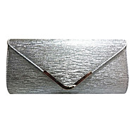 Women leatherette Event/Party Evening Bag Gold / Silver / Black / Champagne