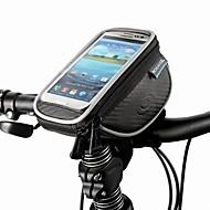 ROSWHEEL® Fietstas 1.5LMobiele telefoon tasje / Fietsstuurtas Stofbestendig / Aanraakscherm / Schokbestendig FietstasPU Leder / Polyester