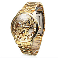 WINNER® Men's Watch Auto-Mechanical Hollow Engraving Full Stainless Steel Band Cool Watch Unique Watch