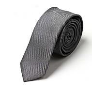 Corbata de seda de imitación clásicos lazos de la moda para los hombres Formal Ties ocio de la mariposa con la raya delgada corbata