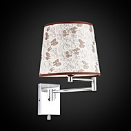Appliques, 1 Lumière, artistique acier inoxydable Placage MS-86208-4