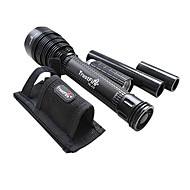 Trustfire® LED Flashlights/Torch / Handheld Flashlights/Torch LED 8000 Lumens 5 Mode Cree XM-L T6 18650 Rechargeable Multifunction