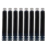 Milch-Kuh-Cartridge Pen mit 8 Ink Refills (weiß)