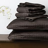 huani® deka set, 3 ks pléd černý polyester