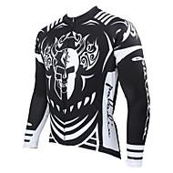 PALADIN Cykel/Cykelsport Tröja / Överdelar Herr Lång ärm Andningsfunktion / Ultraviolet Resistant / Snabb tork / Håller värmen100%