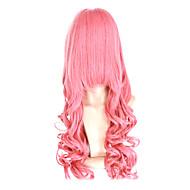 Korkiton Synteettinen 28 Inch Long Wave Synteettinen Hair Wig Cosplay Wig 12 värejä