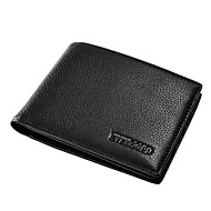 EVERGOLD Men's Short Style Leather Wallet