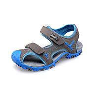Boy's Sandals Spring / Summer / Fall Comfort / Slingback / Sandals Suede Dress / Casual Flat Heel Magic Tape Blue / Gray