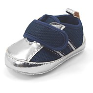 Boy's Flats Spring / Summer / Fall First Walkers Synthetic / Cotton Casual Flat Heel Blue