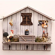 The Hanging Clothes Hook Of Chicken Farm Scene Design