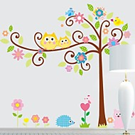 Frankie™  DIY Decorative Stickers Cartoon Tree Can Be Removed