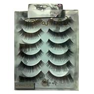 6 pairscoolflower false eyelashes 042#