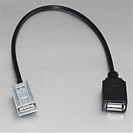 USB Kvinde kabel adapter til Honda Civic Jazz Fit CRV CRZ Accord til USB Flash Drive MP3 Ipod