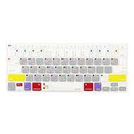JCPAL® Macbook Pro Shortcuts Silicone Keyboard Protector