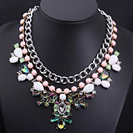 Women's Alloy Necklace Birthday/Gift/Party/Daily Non Stone