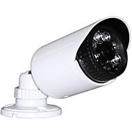HD 1280 * 720P 1.0 메가 픽셀 ONVIF P2P 방수 옥외 야간 시계 소형 CCTV 탄알 IP 카메라