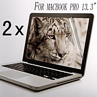 [2-pack] Hög kvalitet Invisible Shield Smudge Proof Skärmskydd för MacBook Pro 13,3-tums