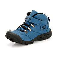 Boy's / Girl's Athletic Shoes Fall / Winter Comfort / Snow Boots Leatherette Outdoor / Casual Flat Heel Rivet / Magic TapeBlue / Brown /