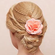 Bergkristal/Katoen/Stof Vrouwen/Bloemenmeisje Helm Bruiloft/Speciale gelegenheden/Outdoor Bloemen Bruiloft/Speciale gelegenheden/Outdoor