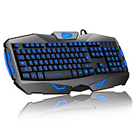 Teclado Delog luminoso Wired Gaming