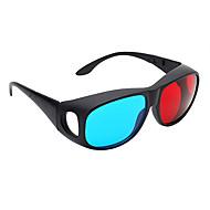 엠&컴퓨터 TV의 일반적인 고화질 빨강, 파랑 3D 안경을 K