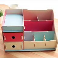 """11.6 """"estilo coreano simples caixa de armazenamento de cosméticos"""