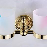 Držák na zubní kartáček / Koupelnové gadgety Ti-PVD Na ze´d 23cm*8cm*12cm(9*3.1*4.7inch) Mosaz Neoklasicistní
