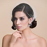 One Tier Blusher Wedding Veil