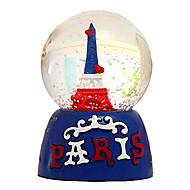 """3.3 """"Eiffelova věž a pařížské dopis music box"""