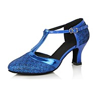 Women's Leatherette Upper Latin Dance Shoes Sandals With Buckie (More Colors)