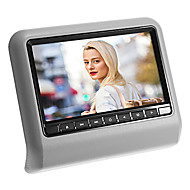 "Ny sytle 9 ""Nakkestøtte Slot-In Car DVD-spiller med FM-sender / IR / USB / SD / Wireless Game (1 Piece)"