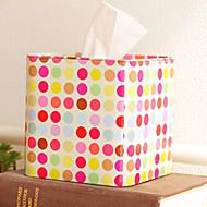 """5 """"H železitý Barevné pastorační styl Tissue Box"""