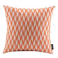 Elegante geométrica algodão / Linen decorativa fronha