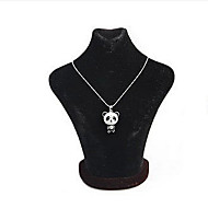 Lucky Star Women's Vintage Small Panda Chain Necklace