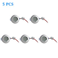 5 pcs 4.5 W 10 SMD 5730 310 LM Warm White Recessed Retrofit Ceiling Lights / Recessed Lights AC 220-240 V