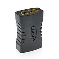 v1.4 HDMI-HDMI f f kábel adapter csatlakozója