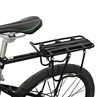 YELVQI Alloy Svart Super Strong Load Bearing Mountain Bike Rear Rack