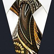 Multicolor Floral Corbata seda de la impresión ocasional de los hombres
