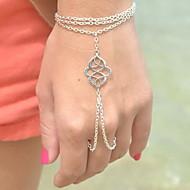 Dames Bedelarmbanden Ringarmbanden Uniek ontwerp Modieus Bohemia Style Europees Legering Sieraden Zilver Bronzen Sieraden VoorFeest