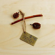 Letter Metal Small Charm