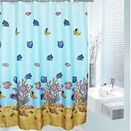Kreslený styl Podmořský svět Curtain sprcha