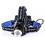 Lights Headlamps LED 4000 Lumens 1 Mode Cree XR-E Q5 18650 / AA Impact Resistant / Strike BezelCamping/Hiking/Caving / Cycling/Bike /