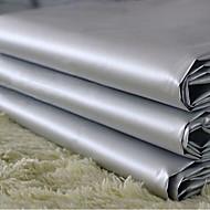 dva panely klasické šedé pevné PVC opona obložení záclony závěsy