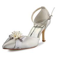 Chaussures de mariage - Noir / Bleu / Rose / Violet / Rouge / Blanc / Argent / Or / Champagne / Beige - Mariage -Bout Pointu / Bride de