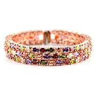 Child's/Couples'/Women's Charm/Chain/Fashion/Tennis Bracelet Cubic Zirconia Cubic Zirconia