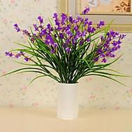 pano de seda plástico de alta qualidade flor simulação iris