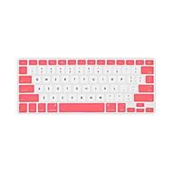 """tofarvet beskyttende tastatur cover til 13.3 """"MacBook Air / pro / pro med nethinden display (assorterede farver)"""