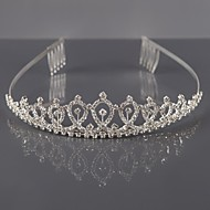 Women's Alloy Headpiece-Wedding Tiaras